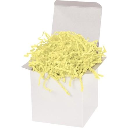 Crinkle Paper, Lemon, 10 Pounds