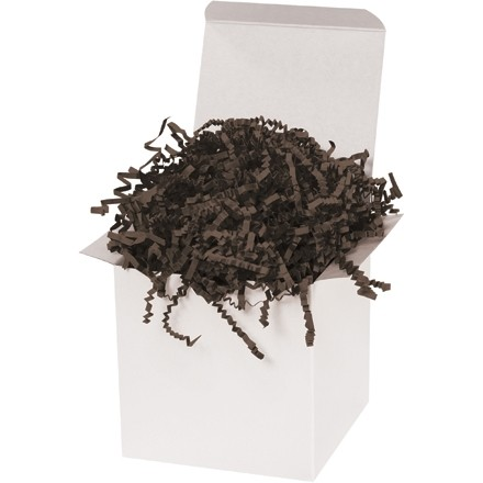 Crinkle Paper, Chocolate, 10 Pounds
