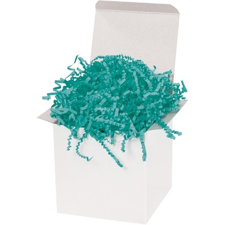 Crinkle Paper, Teal, 10 Pounds