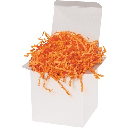 Crinkle Paper, Orange, 10 Pounds