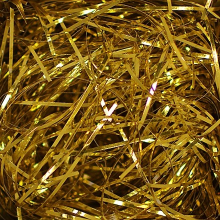 Crinkle Paper, Gold Metallic,