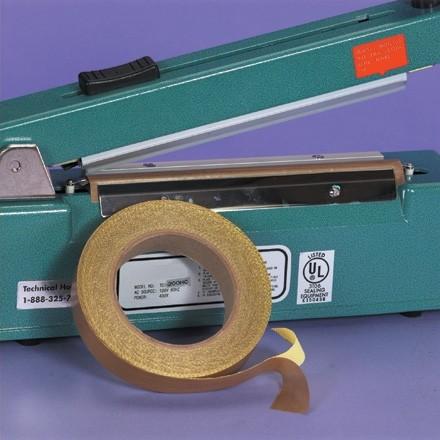 "PTFE Glass Cloth Tape, 3/4"" x 36 yds., 3 Mil"