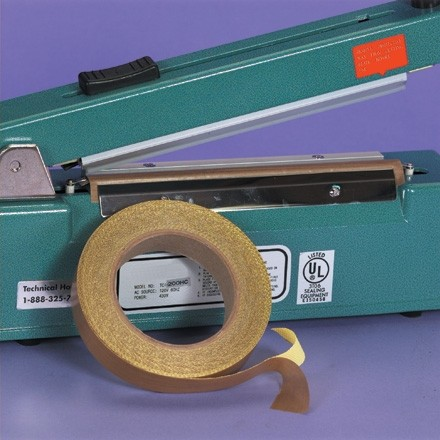 "PTFE Glass Cloth Tape, 1/4"" x 18 yds., 3 Mil"