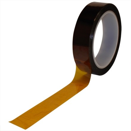"""Kapton® Tape, 1 1/4"""" x 36 yds., 1 Mil"""