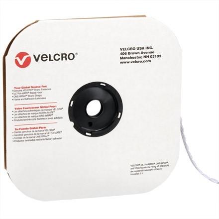 """VELCRO® Hook and Loop, Dots, Loop, 3/8"""", White"""