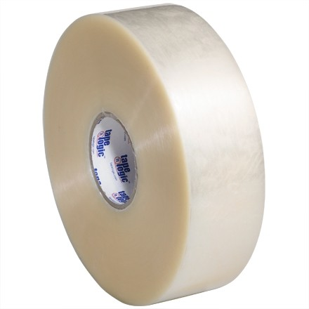 "Clear Machine Carton Sealing Tape, Economy, 3"" x 1000 yds., 1.9 Mil Thick"