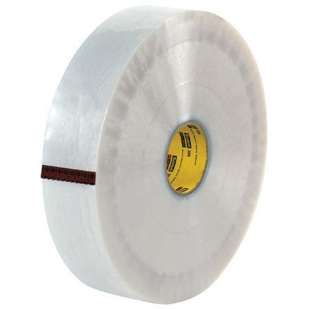 "Clear Machine Carton Sealing Tape,, 3"" x 1000 yds., 3.5 Mil Thick"