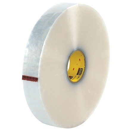 "Clear Machine Carton Sealing Tape,, 2"" x 1000 yds., 3.1 Mil Thick"