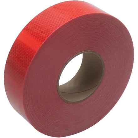 "3M 983 Red Reflective Tape, 2"" x 150"
