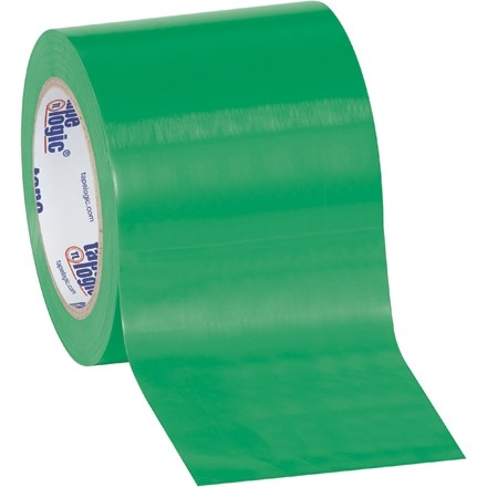"Green Vinyl Tape, 4"" x 36 yds., 6 Mil Thick"