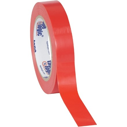 """Red Vinyl Tape, 1"""" x 36 yds., 6 Mil Thick"""