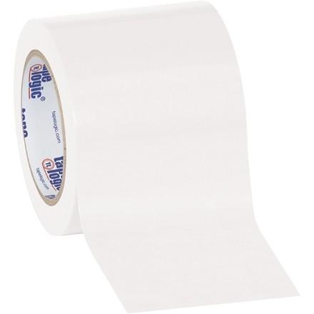 "White Vinyl Tape, 4"" x 36 yds., 6 Mil Thick"