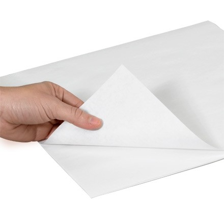 """Butcher Paper Sheets, 24 X 30"""", White"""