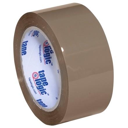 "Tan Carton Sealing Tape, Industrial, 2"" x 55 yds., 3.5 Mil Thick"