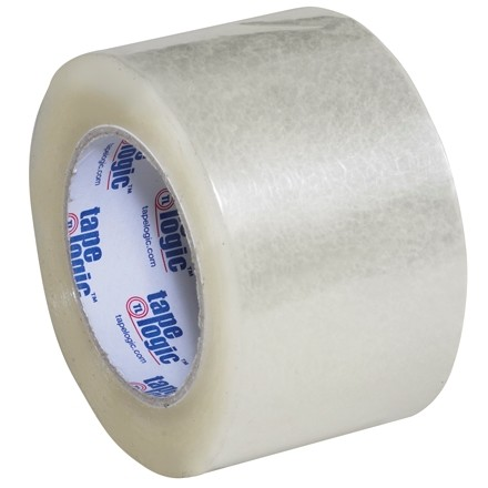 """Clear Carton Sealing Tape, Industrial, 3"""" x 110 yds., 2.6 Mil Thick"""