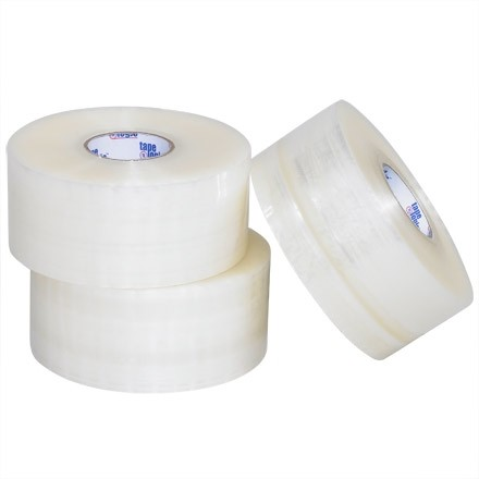 """Clear Carton Sealing Tape, Industrial, 2"""" x 220 yds., 2 Mil Thick"""