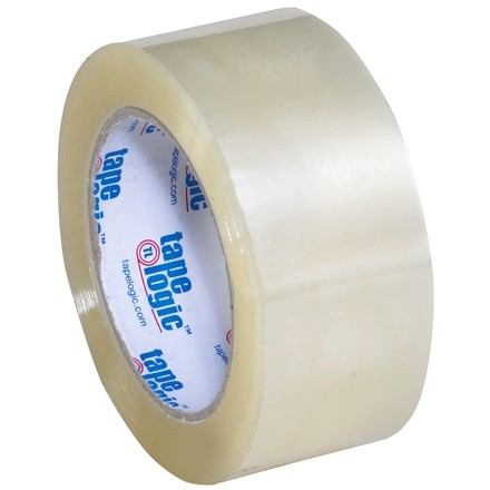"""Clear Carton Sealing Tape, Industrial, 2"""" x 110 yds., 2 Mil Thick"""