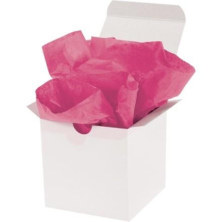 "Cerise Tissue Paper Sheets, 20 X 30"""