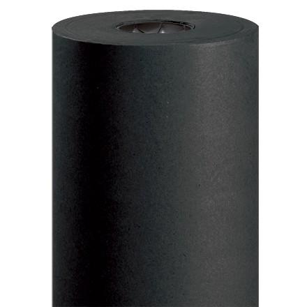 "Black Kraft Paper Rolls, 36"" Wide - 50 lb."