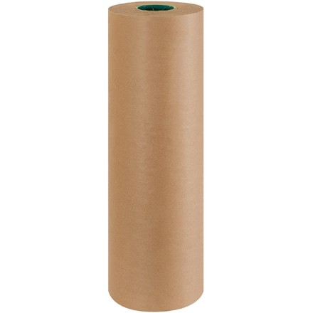 "Poly Coated Kraft Paper Rolls, 24"" Wide - 50 lb."