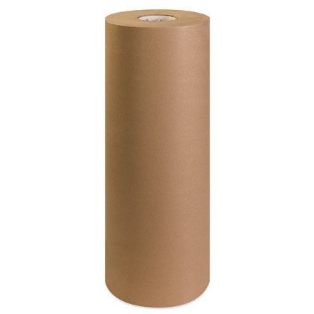"Kraft Paper Rolls, 24"" Wide - 30 lb."