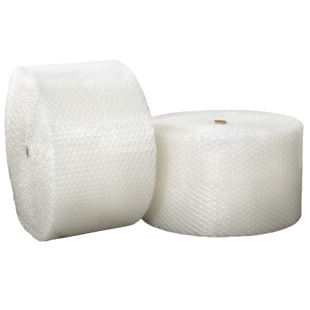 """Bubble Rolls, Heavy Duty, Large, 1/2"""" X 24"""" X 250', Perforated"""