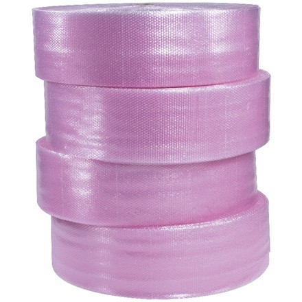 """Bubble Rolls, Anti-Static, Large, 1/2"""" X 12"""" X 250', Perforated"""