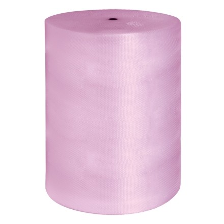 """Bubble Rolls, Anti-Static, Small, 3/16"""" X 48"""" X 750', Perforated"""