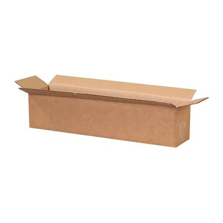 "Corrugated Boxes, 18 x 4 x 4"", Kraft"