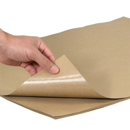 "Poly Coated Kraft Paper Sheets, 24 X 36"" - 50 lb."