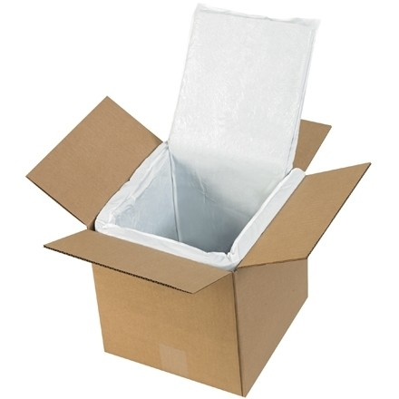 Deluxe Insulated Box Liners, 8 X 8 X 8""