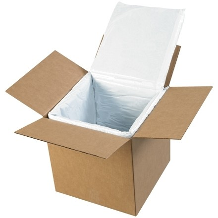 Deluxe Insulated Box Liners, 12 X 12 X 12""