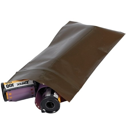 """Reclosable UV Protection Poly Bags, 8 x 14"""", 3 Mil, Amber"""