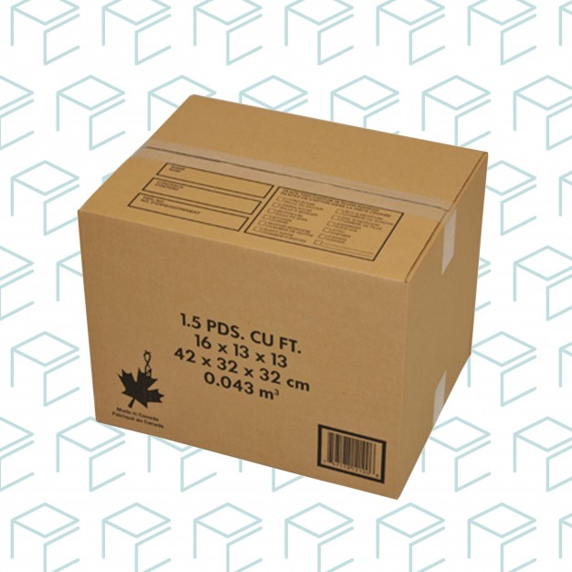 """Moving Boxes - 16"""" X 13"""" X 13"""" - 10 Pack"""