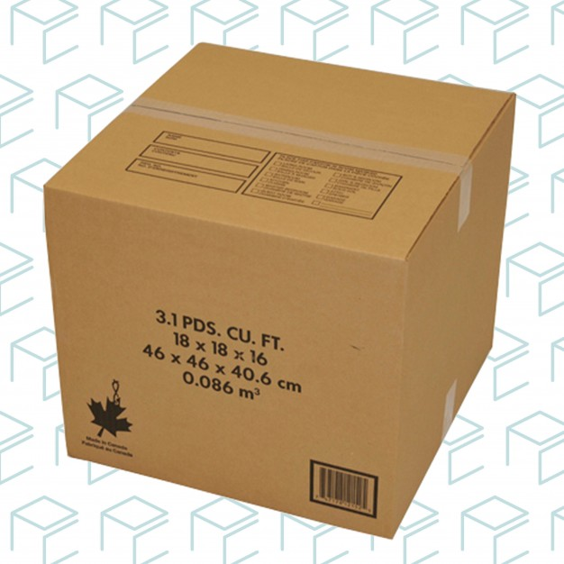 """Moving Boxes - 18"""" X 18"""" X 16"""" - 10 Pack"""
