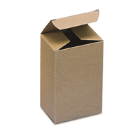 """Paperboard Box 3"""" X 3"""" X 4"""" - Case of 500"""