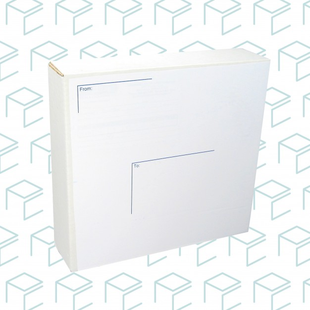 "White Mailing Boxes 11.5"" X 11.75"" X 7.6"" - Pack of 25"