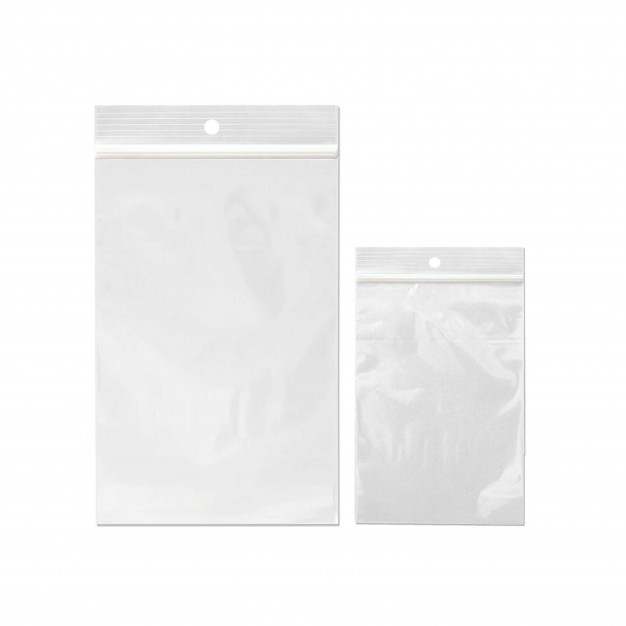 Small Reclosable Poly Bags - 4 mil Case of 1000 - Sizes Available