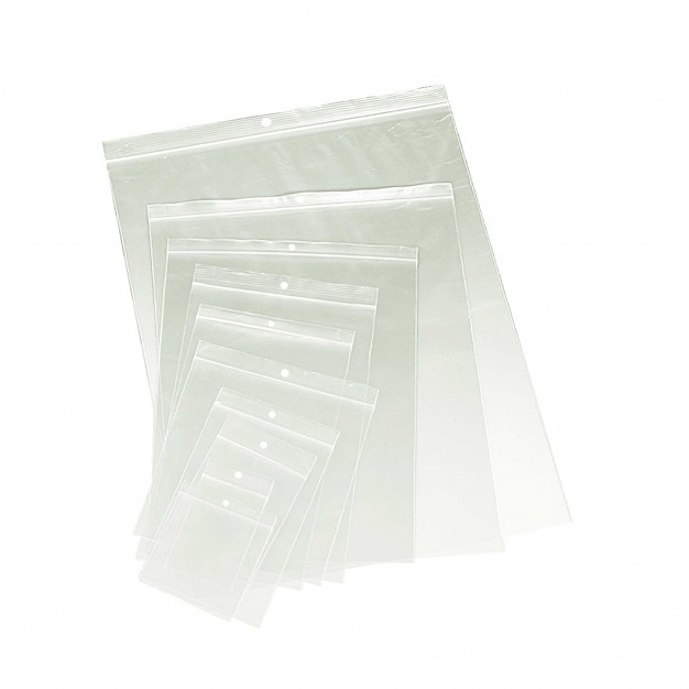Medium Reclosable Poly Bags - 4 mil Case of 500- Sizes Available
