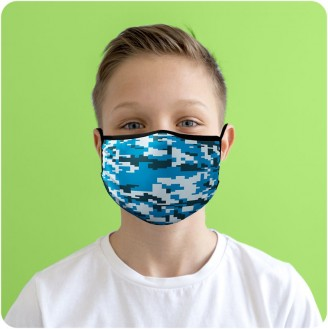 Custom Kids Double-Ply Face Mask