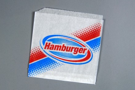 "Double Opening Hamburger Bags, 7 x 6 1/2"""