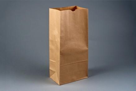 "Bakery Bags, Plain Front, 6 1/2 x 4 x 16 1/8"", Natural Kraft"