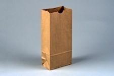 "Bakery Bags, Plain Front, 4 3/4 x 3 x 11 1/2"", Natural Kraft"
