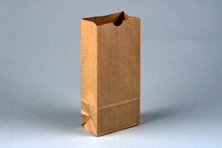 "Bakery Bags, Plain Front, 4 1/4 x 2 1/2 x 9 3/4"", Natural Kraft"