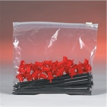 "Poly Bags, Slider, 12 1/2 x 9"", 3 Mil"