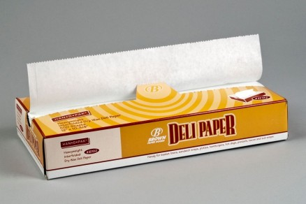 Heavy Duty Waxed Deli Tissue Sheets, 12 x 10 3/4""