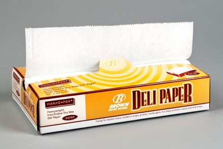 Heavy Duty Waxed Deli Tissue Sheets, 10 x 10 3/4""