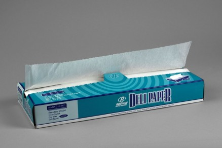 Waxed Deli Tissue Sheets, 15 x 10 3/4""
