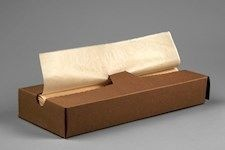 Natural Waxed Deli Tissue Sheets, 10 x 10 3/4""