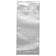 "Flap Lock Poly Bags, 12 x 14"", 2 Mil"